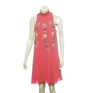 Desigual Dresses - 9931 Desigual Angy Floral Embroidered Mini Dress S